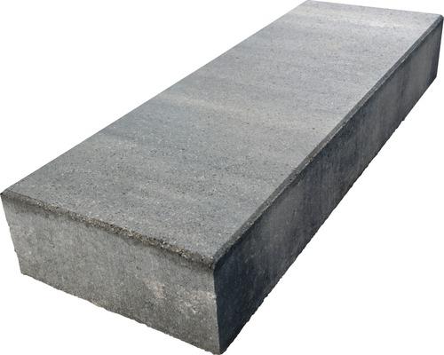 Marche En Bloc Beton Istep Pure Quartzite Gris Noir 100x35x15 Cm