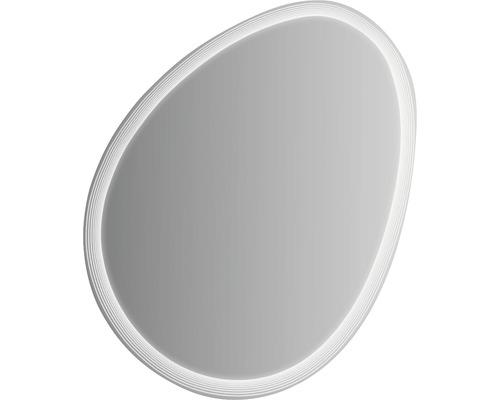 Top LED Spiegel 75x98 cm Ei mit beleuchteten Streifen - HORNBACH Luxemburg EF13