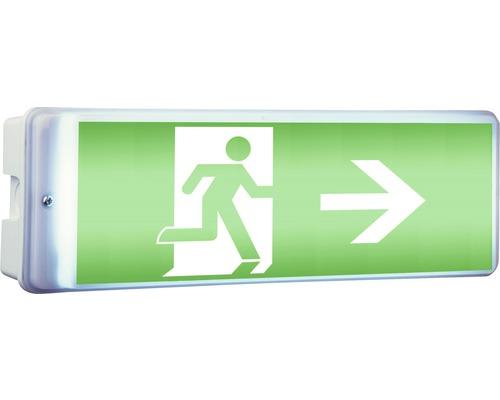 Luminaire LED indicateur de sortie de secours