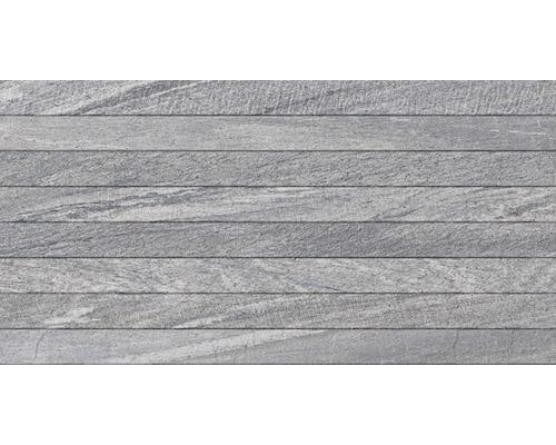 Carrelage décoratif Sahara gris, 32x62,5 cm