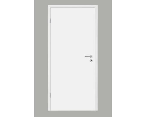 Porte intérieure Pertura Soley laque blanche 86,0x198,5 cm gauche (noyau alvéolaire)