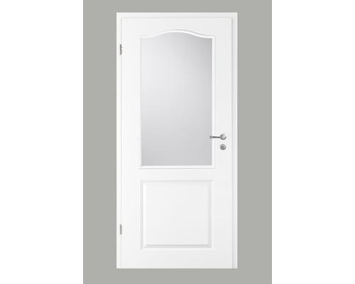Porte intérieure Pertura Pila 02B laque blanche 86,0x198,5 cm tirant gauche avec découpe G7 (sans vitrage)