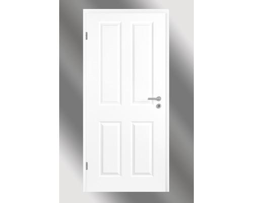 Hornbach Türen zimmertür pertura pila 04 weißlack 86 0x198 5 cm links hornbach