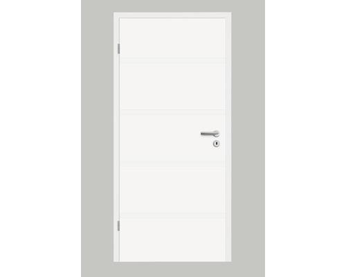 Porte intérieure Pertura Linum 02 blanc vernis 86,0x198,5 cm tirant gauche
