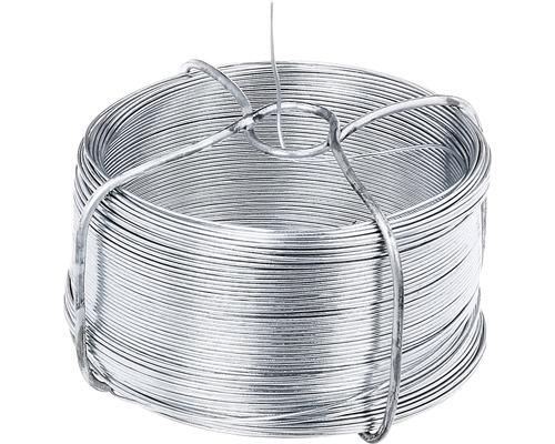 Fil en acier 1200, 0,8 mm/50 m, galvanisé