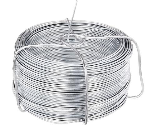 Fil en acier 1200, 1,3 mm/50 m, galvanisé