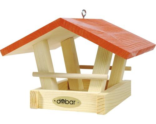 Maison à oiseaux avec un toit multicolore à suspendre, trié par couleur