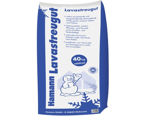 Granulés de lave à épandre 40kg