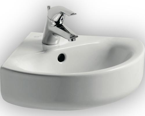 Lave-mains d''angle Ideal Standard Connect Arc 34 cm blanc E713601
