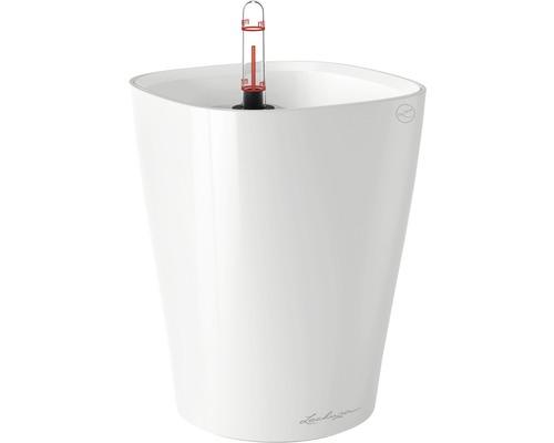 Pot Lechuza Deltini plastique Ø 14 H 18 cm blanc