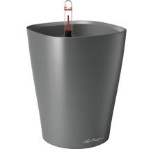 Pot Lechuza Deltini plastique Ø 14 H 18 cm anthracite-thumb-0