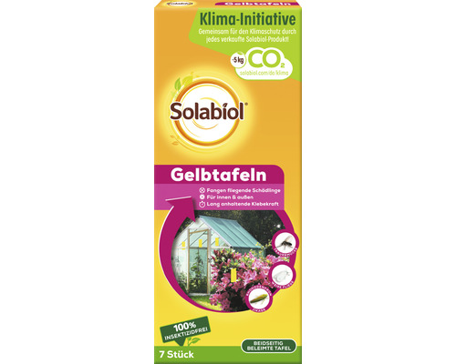Tablettes jaunes Solabiol Natria 7 pièces