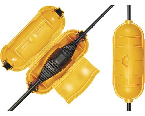 Safe-Box Brennenstuhl (für Stecker/Kupplung) gelb