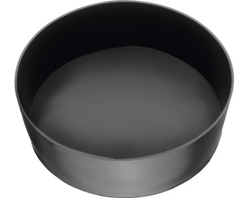 Bol pour plâtre plat Ø 130 mm cylindrique-0