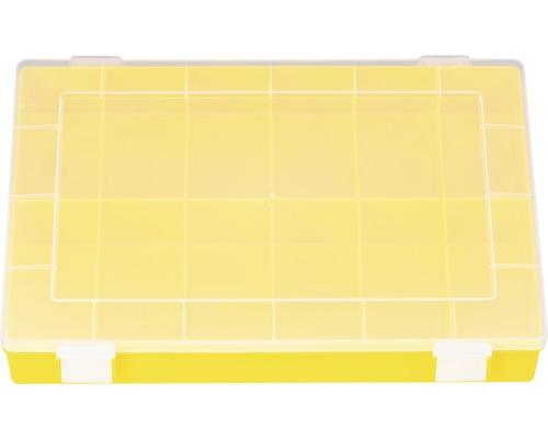 Organisateur jaune 12 compartiments