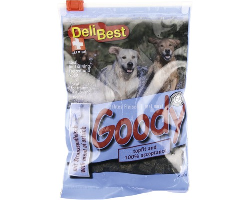 Delibest Goodys de viande avec de l''autruche 100 g