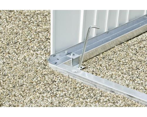 Cadre de sol biohort pour remise à outils AvantGarde taille A8, 252 x 332 cm