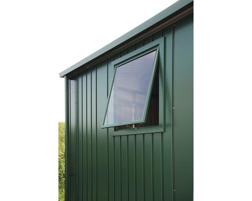 Fenêtre pour abri de jardin Europa, 50 x 60 cm, vert foncé