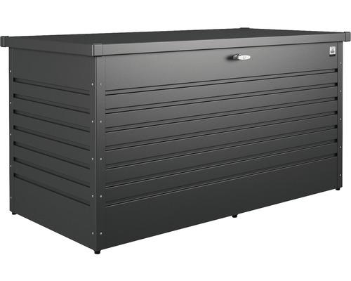 Boîte de rangement biohort 160 High 159x79x83cm gris foncé métallique