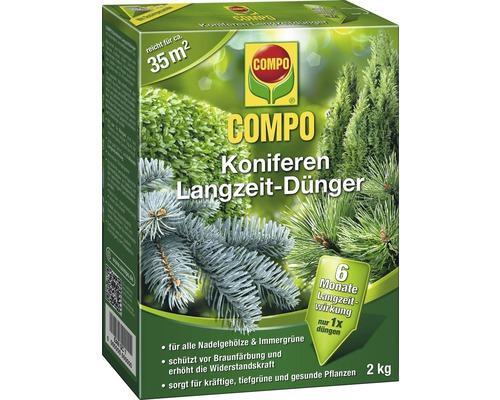 Koniferen-Langzeitdünger Compo 2 kg