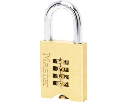 Zahlenschloss Master Lock Messing 50 mm
