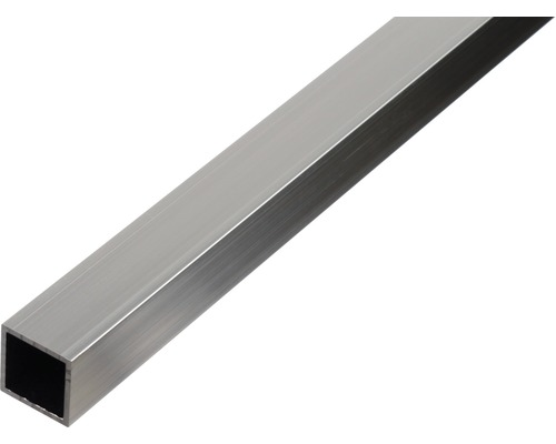 Tube carré en aluminium 20x20x1,5mm, 2m