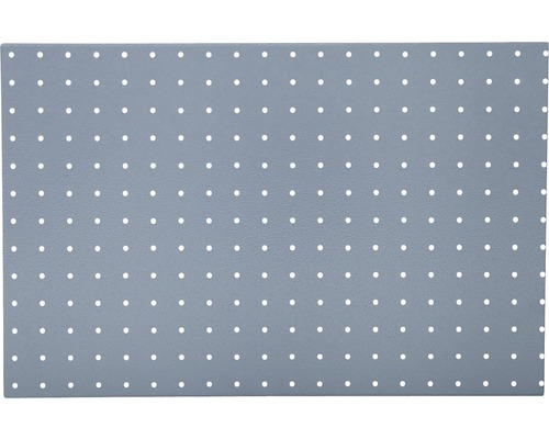 Panneau perforé 600x380x10 mm blanc-0