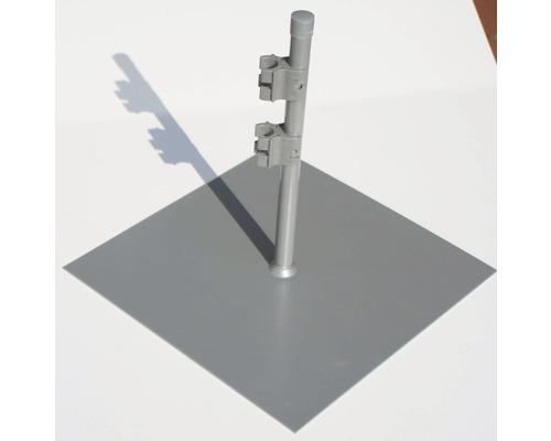 Plaque d''assise pour paravent anthracite 35x35cm