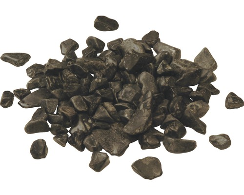 Gravier de marbre 8-16 mm 250 kg, noir