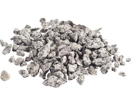 Gravillons de granit 8-16 mm 250 kg, gris-blanc