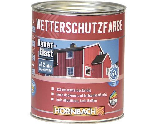 Peinture de protection contre les intempéries couleur bois rouge
