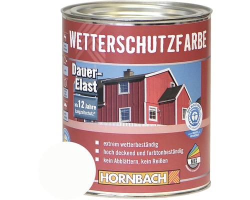 Peinture de protection du bois contre les intempéries blanc 750ml