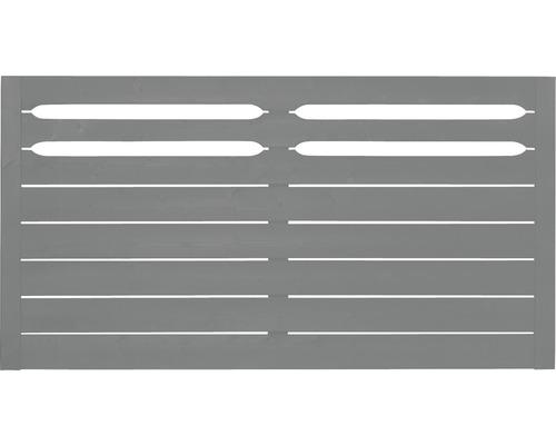 Clôture basse Ground 180x90 cm, Grau