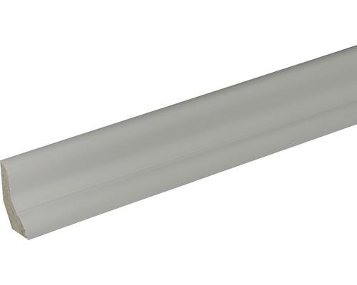 Plinthe SF384 pin blanc laqué 20x40x2400mm