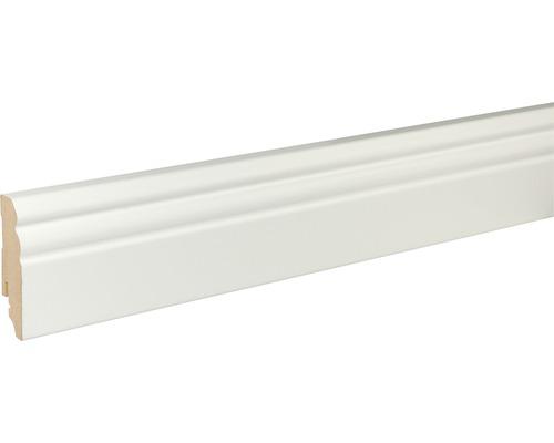 Plinthe blanche 18x70x2400mm
