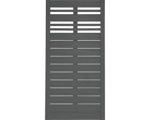 Panneau en bois Reddy 90x180 cm, anthracite