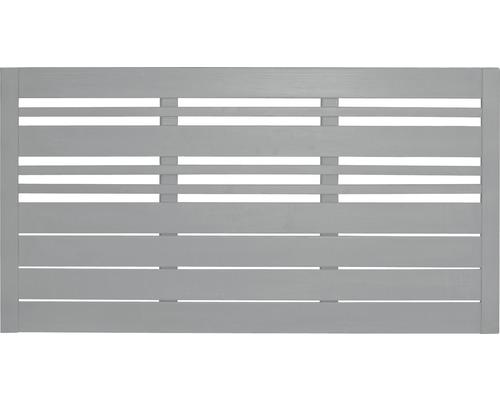 Clôture basse Reddy 180x90 cm, gris