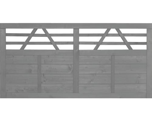 Clôture basse Venga 180x90 cm, gris