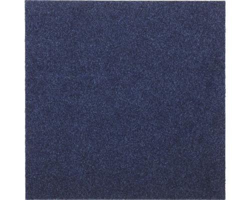 Dalle de moquette Vox bleue marine 50 x 50 cm