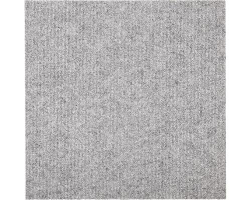 Dalle de moquette Rex grise claire 50 x 50 cm