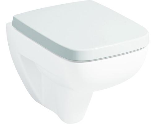 Abattant WC Keramag Renova Nr.1 Plan blanc à basculement automatique