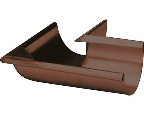 Precit Innenwinkel 90° chocolate brown NW 125mm
