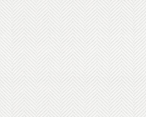 Papier peint 5971-13 chevrons blanc