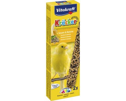 Vitakraft Vogelsnack Kräcker® Banane, Kanarien