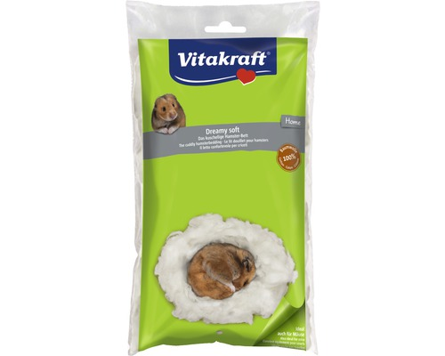 Ouate pour hamster Vitakraft Dreamy Soft,20g