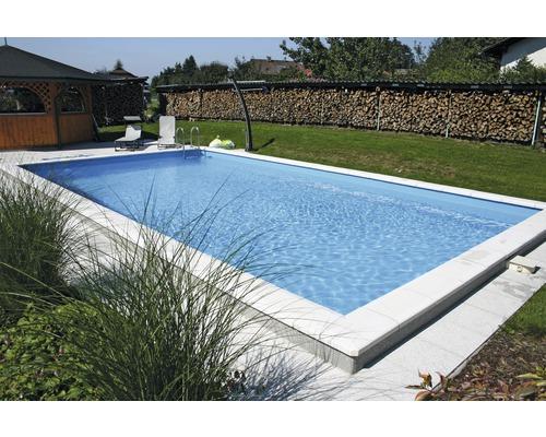 Kit de piscine polystyrène standard P25 600x300cm, profondeur 150cm