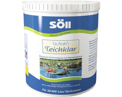 Nettoyant pour étang Söll Dr. Roths Teichklar 1kg