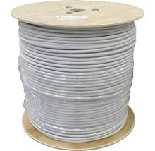 Câble électrique sous gaine NYM-J 3x1.5mm², bobine de pro 500m gris-thumb-0