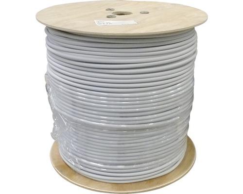 Câble électrique sous gaine NYM-J 3x1.5mm², bobine de pro 500m gris
