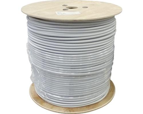 Câble électrique sous gaine NYM-J 3x2.5mm², bobine de pro 400m gris